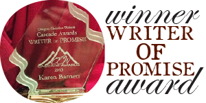Writer of Promise winner